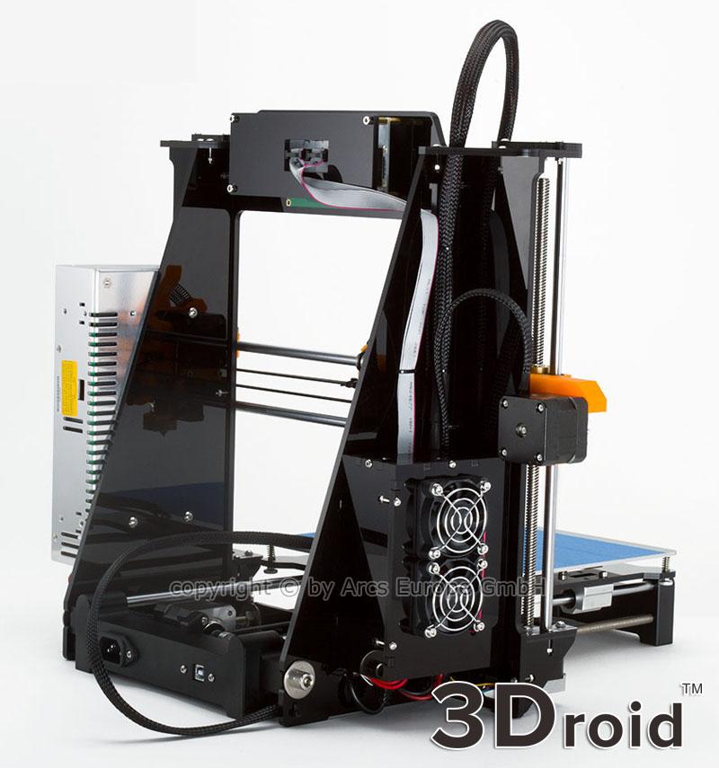 prusa i3 bausatz alu acryl reprap 3d drucker pla abs printer initialisierung ebay. Black Bedroom Furniture Sets. Home Design Ideas