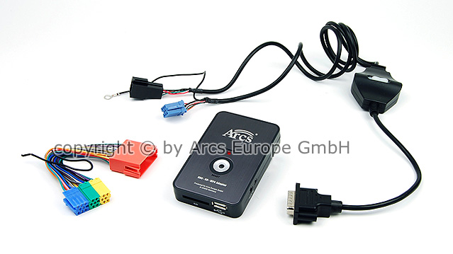 usb sd mp3 wechsler cd aux adapter audi a6 a2 a3 a4 a8 ebay. Black Bedroom Furniture Sets. Home Design Ideas