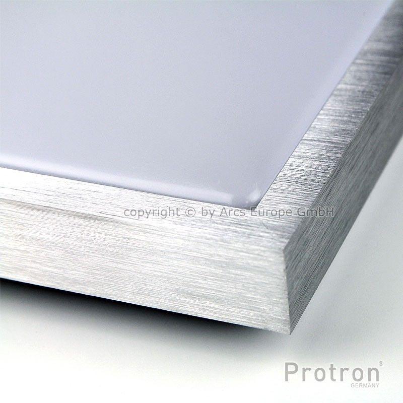 protron led deckenleuchte 18w deckenlampe bad flur warmwei quadratisch 39x39cm ebay. Black Bedroom Furniture Sets. Home Design Ideas